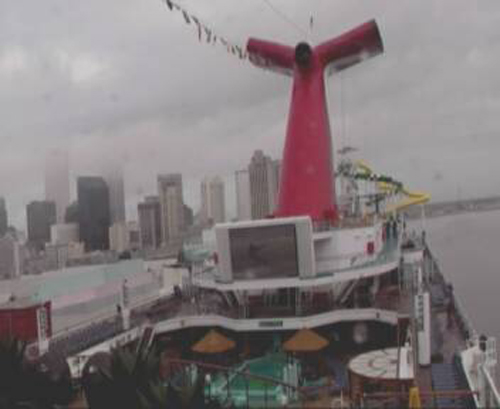 Carnival Sunshine In New Orleans For First Time!