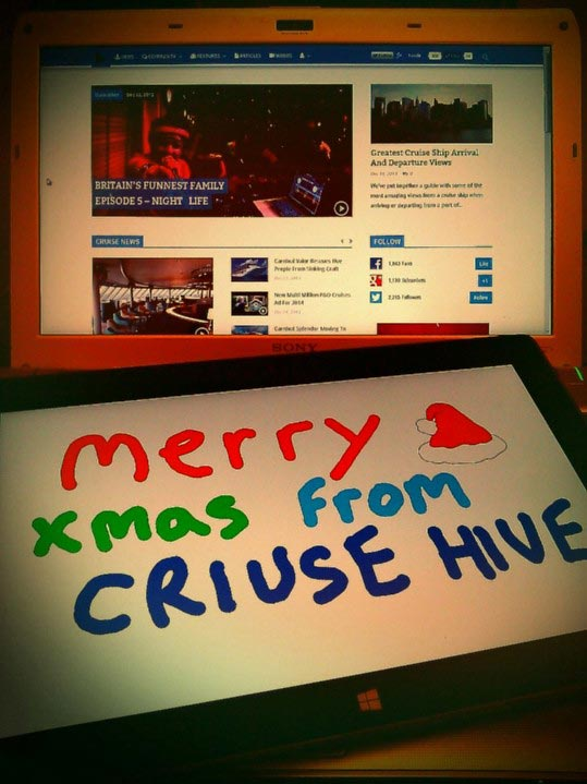 MERRY XMAS FROM CRUISEHIVE HQ!