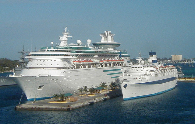 Docked Cruises Ships