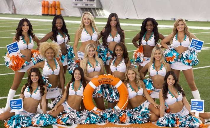 Miami Dolphin Cheerleaders