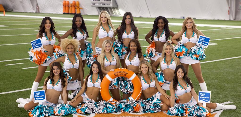 Miami Dolphin Cheerleaders