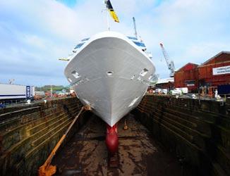 Cruise Ship Drydock
