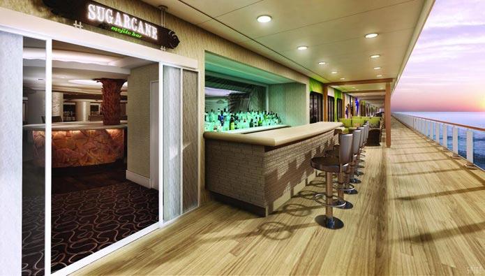 Norwegian Getaway Lounge