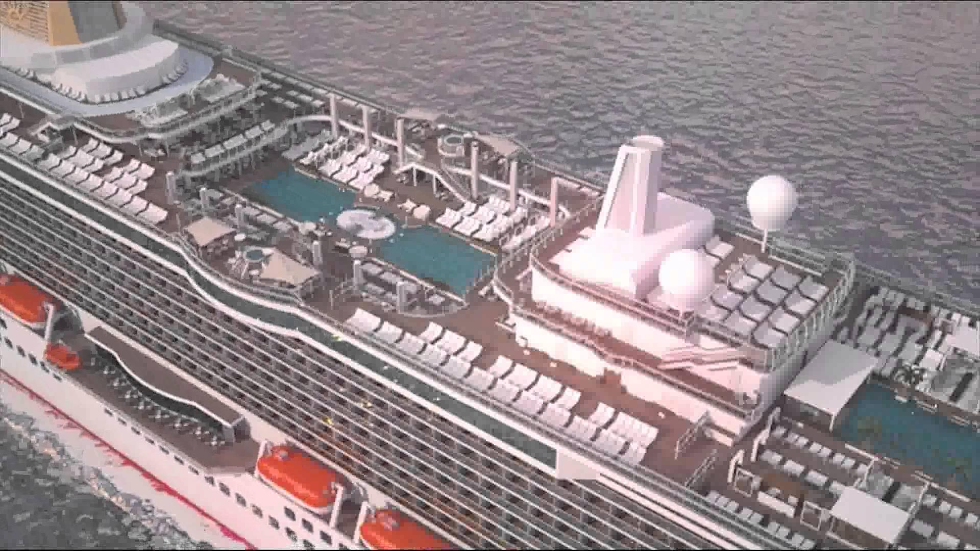 PampO Cruises Reveals UKs Biggest Ever Cruise Ship As Britannia