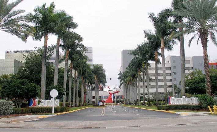 Carnival Miami Building
