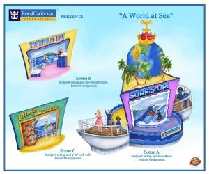 Royal Caribbean Float