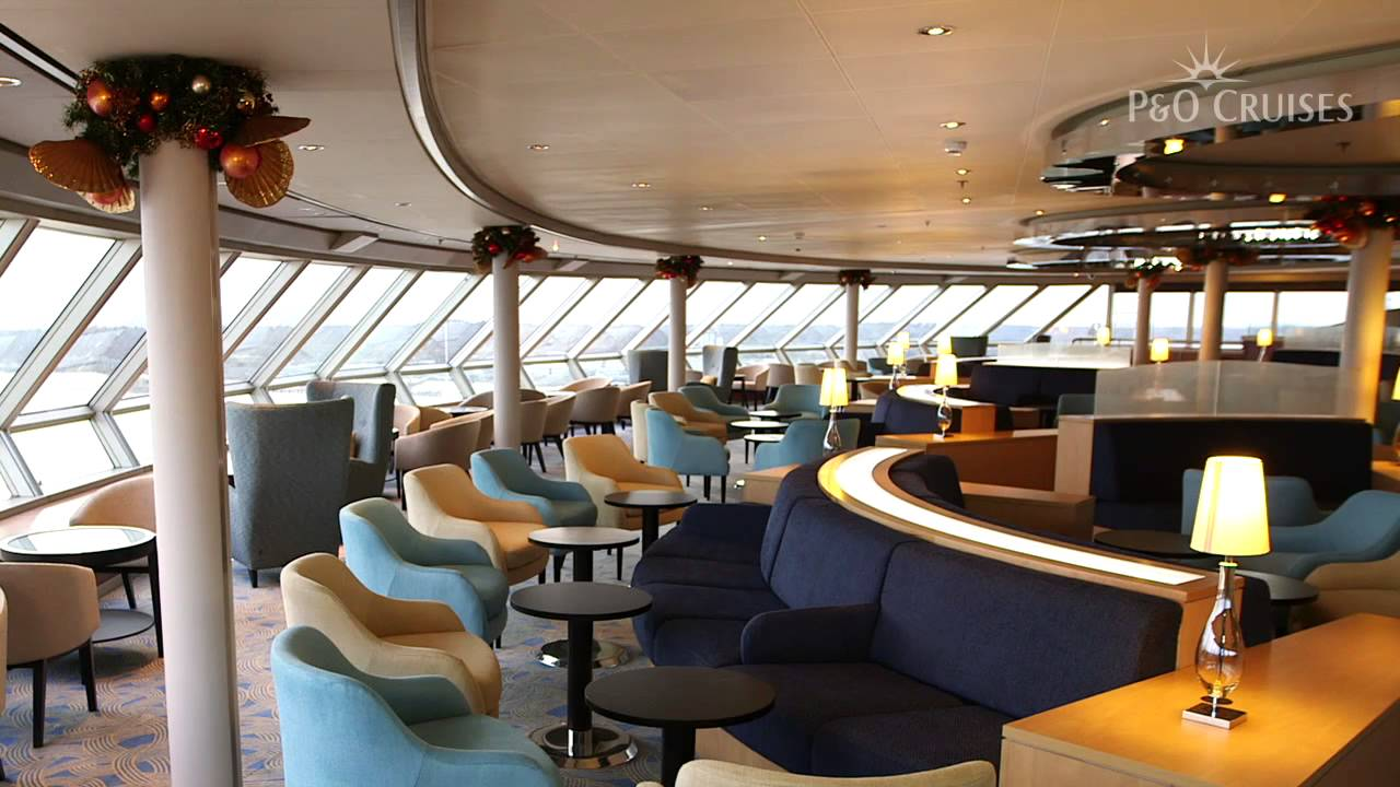 P o arcadia has completed its refurbishment just in time for Aurora p o interior
