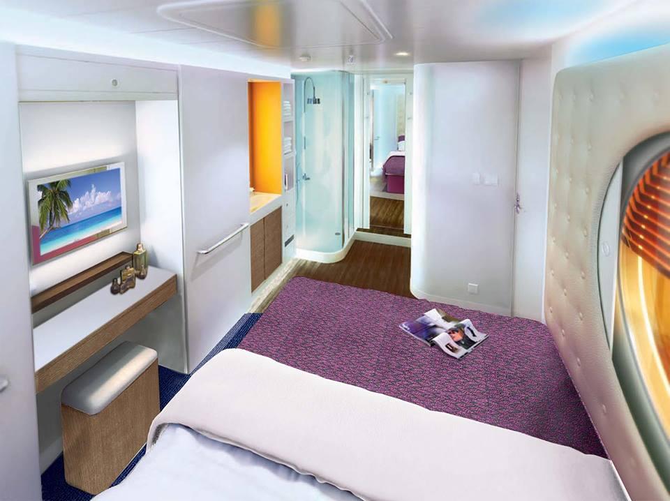 Norwegian Cruise Line Releases Norwegian Escape Stateroom ...