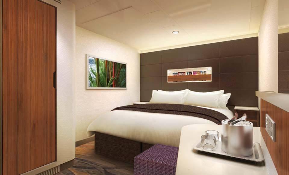 Norwegian Cruise Line Releases Norwegian Escape Stateroom