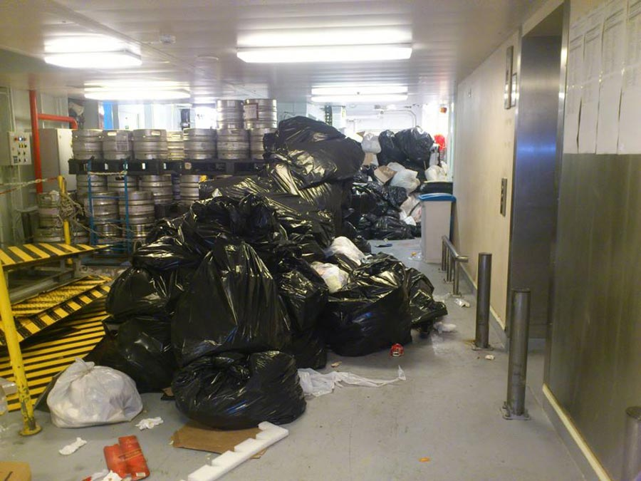Crew Members Caught Dumping Garbage From MSC Cruise Ship