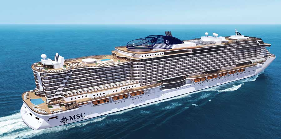 MSC Cruises Teases Huge Cruise Ships On The Way - Huge cruise ship