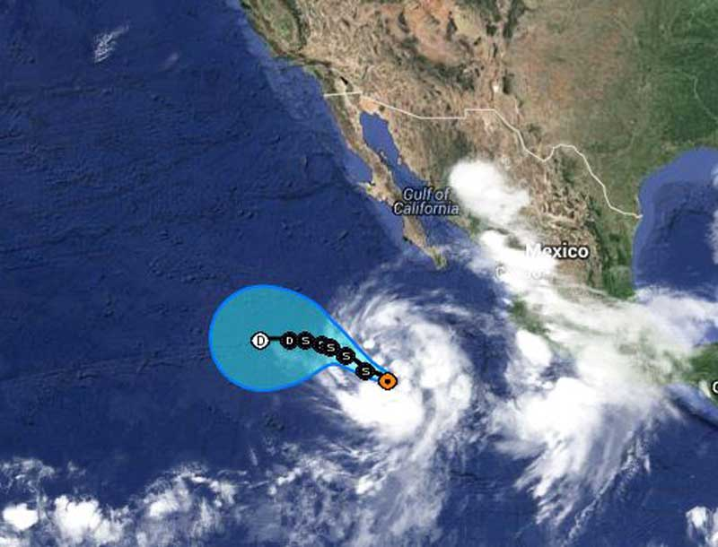 Tropical Storm Douglas