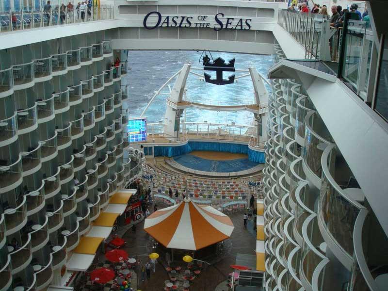 Oasis Class Ship