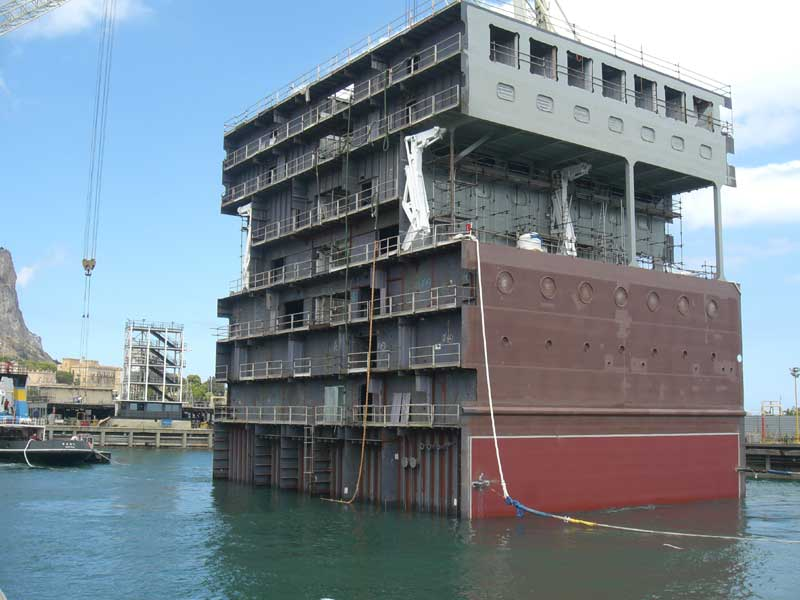 New MSC Armonia Block