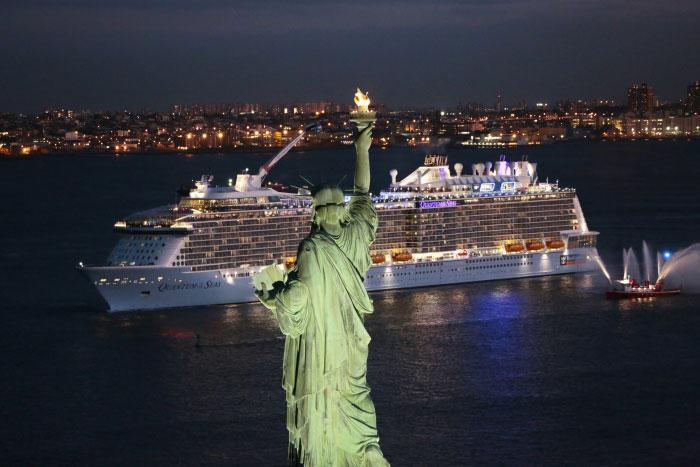 Quantum of the Seas Naming New York