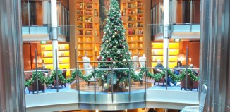 Cruise Atrium Christmas Tree