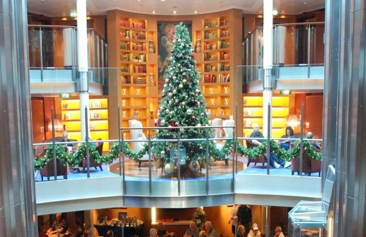 Cruise Atrium Christmas Tree