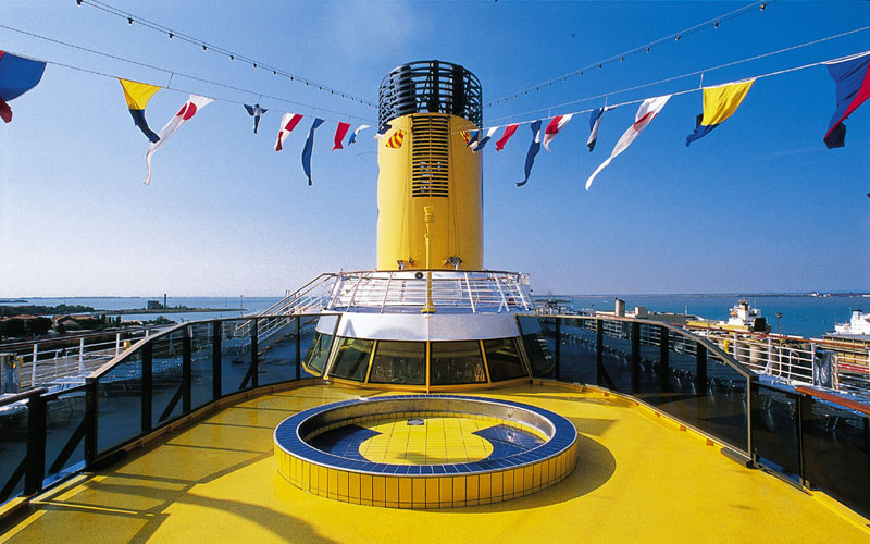 Costa Cruise Funnel