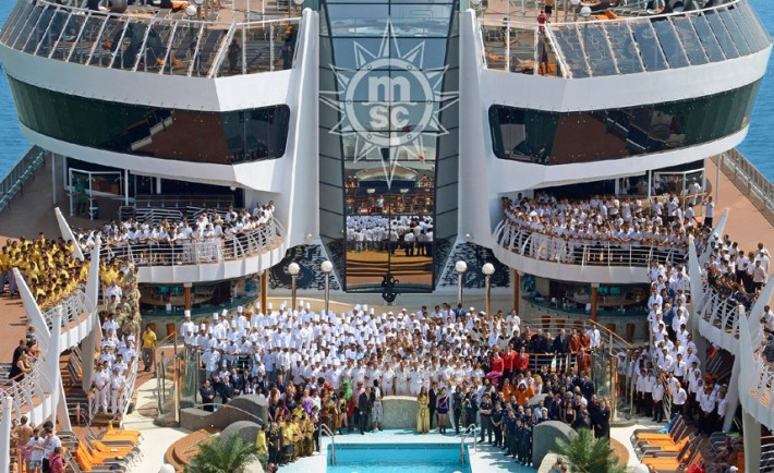 Crew On Cruise Ship