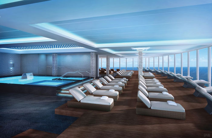 Norwegian Escape, Mandara Spa