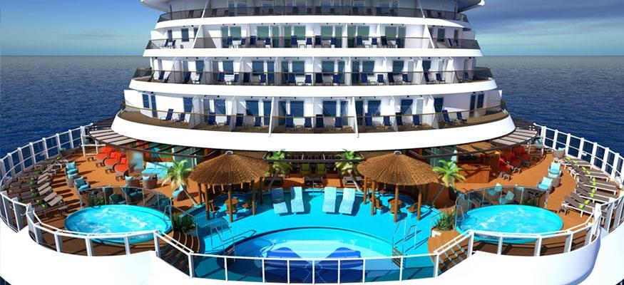 Carnival Vista, Havana Bar and Pool