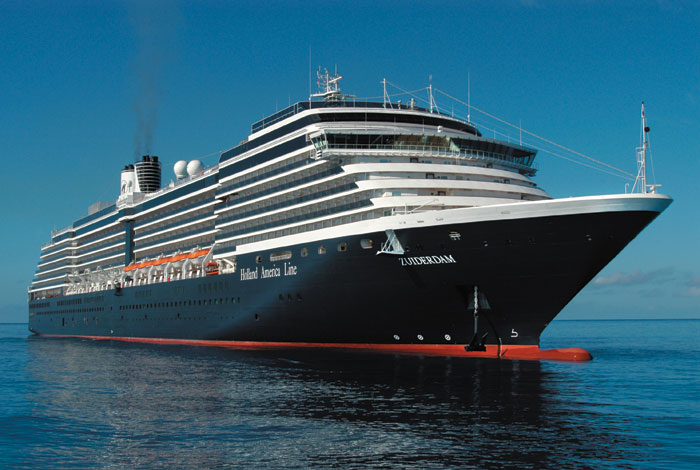 Holland America Cruise Ship Rescues Crew From Sinking ...