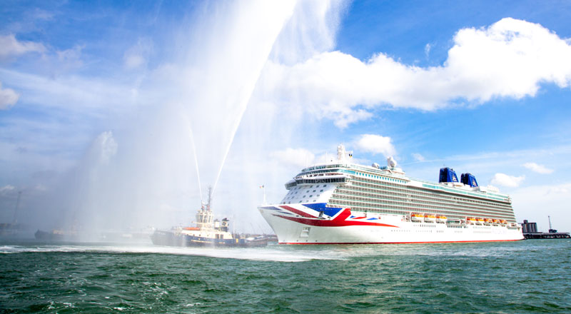 P Amp O Britannia Has Arrived In Southampton For Its Royal