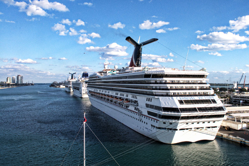 Carnival Ships, Miami