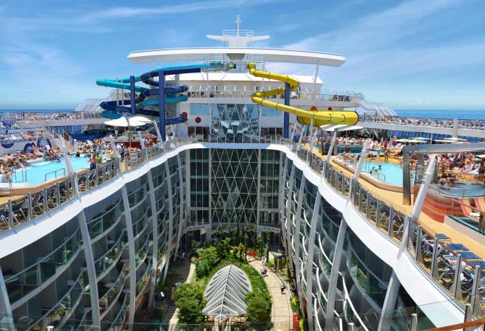 Harmony of the Seas Water Slide