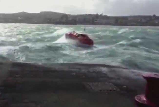 MV Amadea Tender Boat