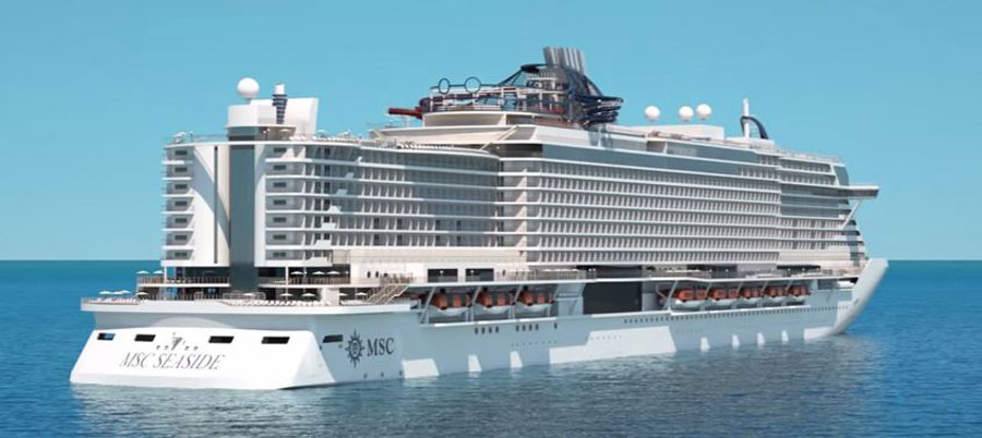 MSC Seaside Simply Shows Off In New Video
