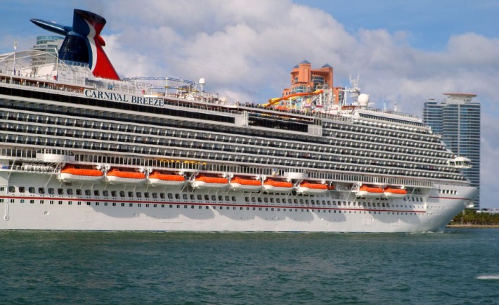 Carnival Shuffles Some Of It S Biggest Cruise Ships In The