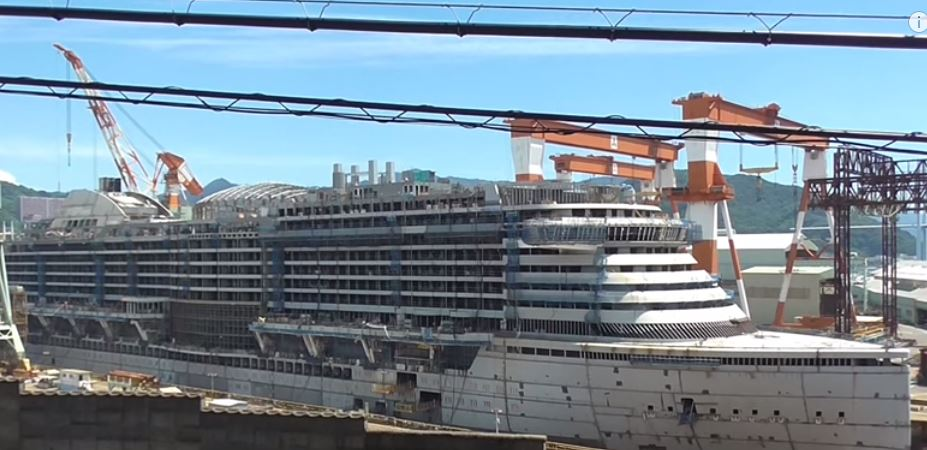 Second New Generation Cruise Ship Under Construction In Japan
