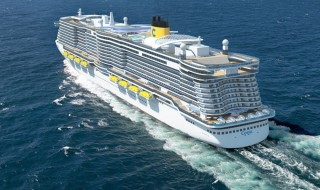 Costa Ship Rendering