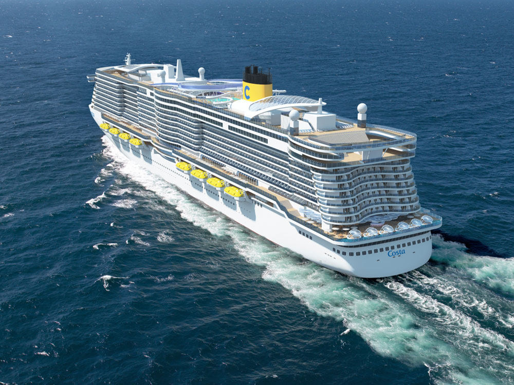 Costa Ship Rendering