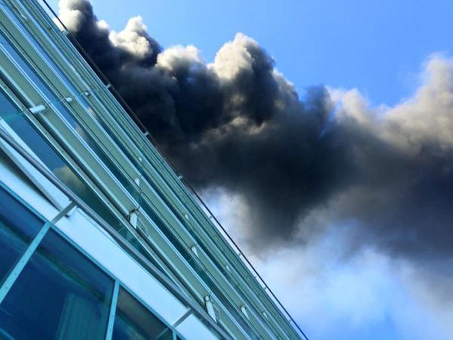 Freedom of the Seas Fire