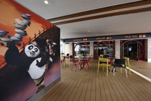 Kung Fu Panda Noodle Shop