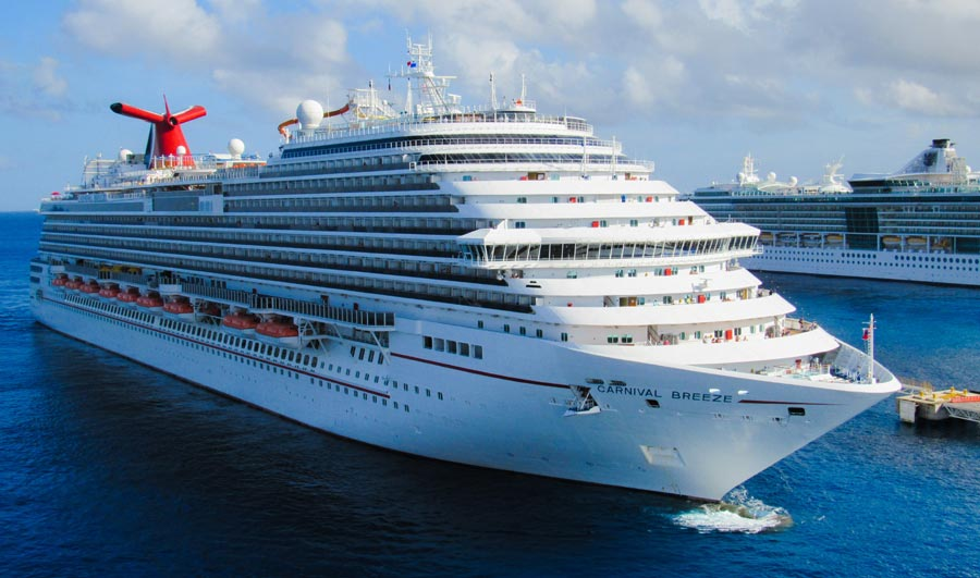 Carnival Breeze Cruise Ship