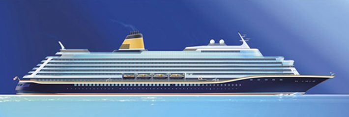 New Saga Cruise Ship