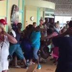 Carnival Breeze Fight