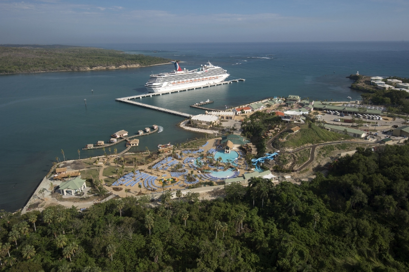 Carnival Victory Becomes First Cruise Ship To Call At
