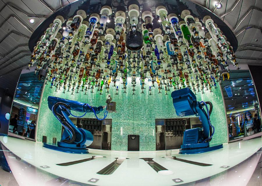 Robotic Bartenders