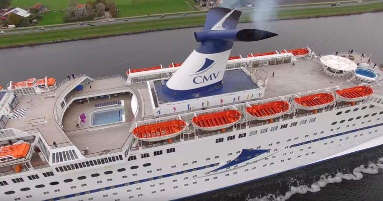 Video Footage Captures Magellan Cruise Ship in All Its Glory