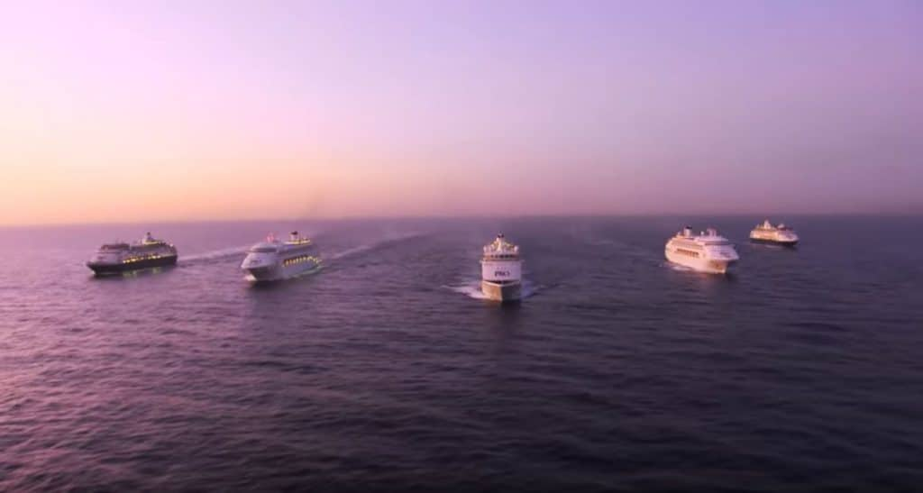 P&O Australia Fleet
