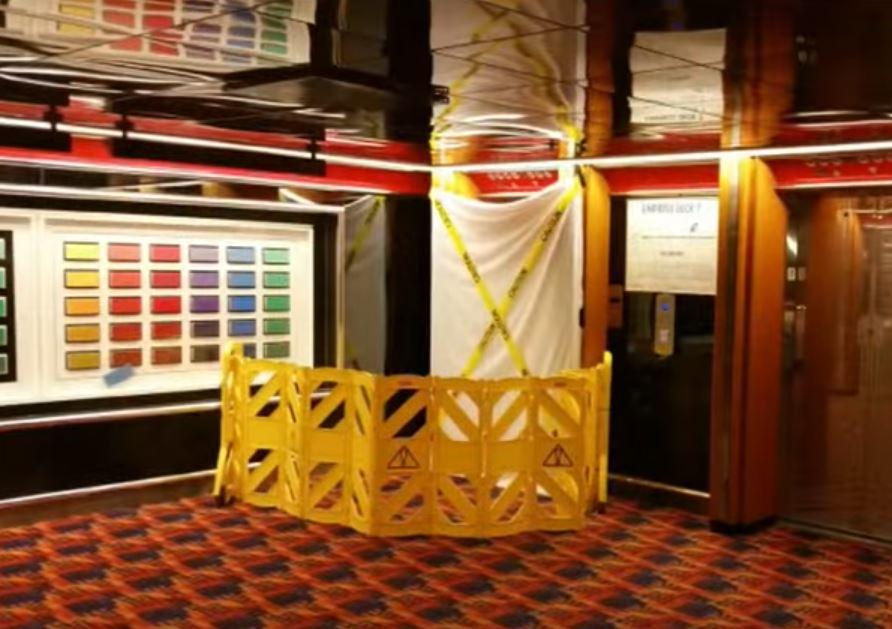 Carnival Ecstasy Elevator