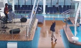 Cruise Passenger Dancing