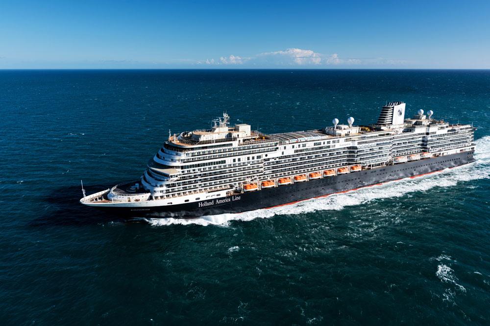 Ms Koningsdam Completes Sea Trials