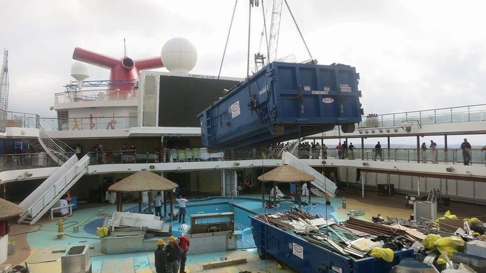 Carnival Magic Dry Dock