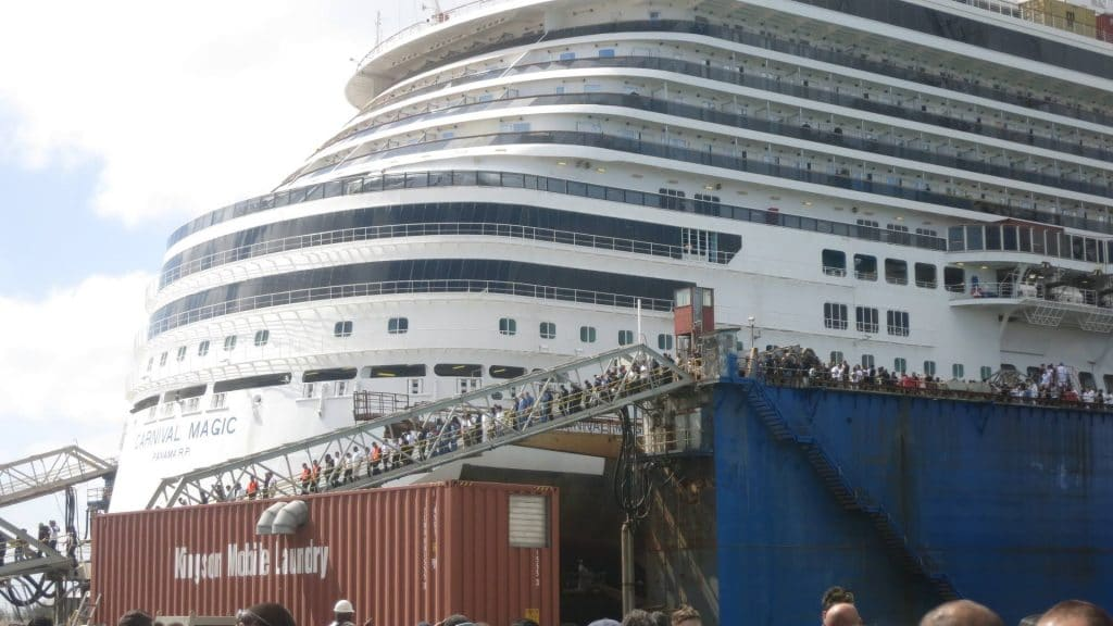Carnival Magic Dry Dock Cruise Hive