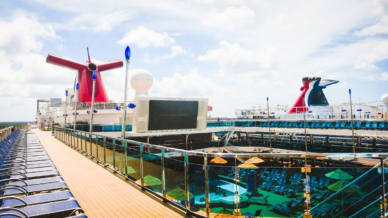 Carnival Cruise Ship Decks